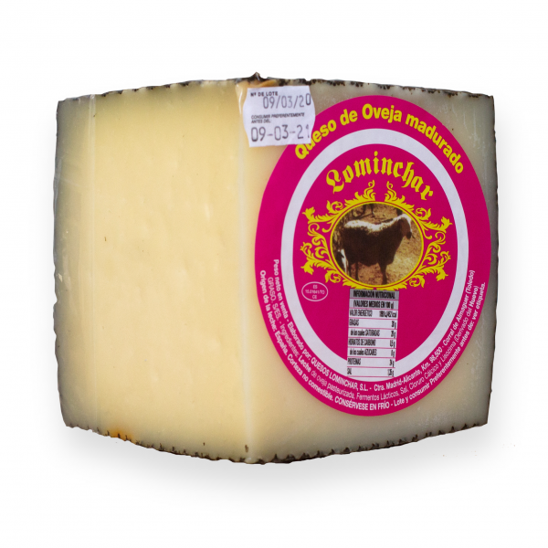 Lominchar Cheese Full-Fat Semicured