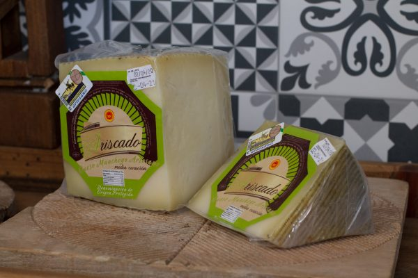 Manchego Cheese D.O.P Ariscado Semicured