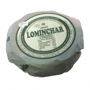 Lominchar Cheese Cured In Lard