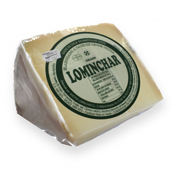 Lominchar Cured Cheese With Lard