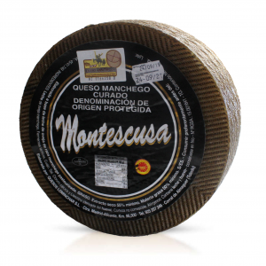 Queso Manchego D.O.P. Montescusa Curado