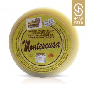 Queso Manchego D.O.P. Montescusa Semicurado