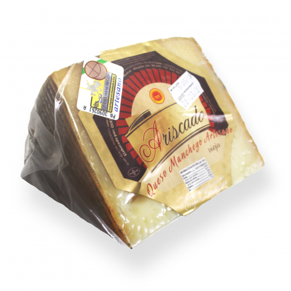 Manchego Cheese D.O.P Ariscado Old Cured