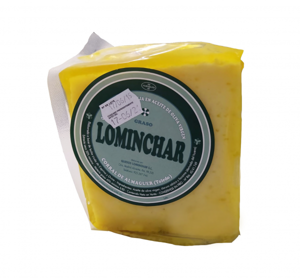 Quarter Lominchar Cheese Cured In Oil