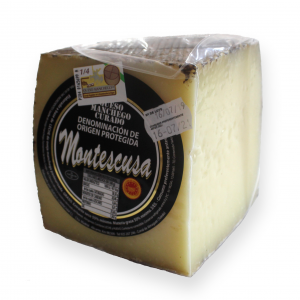 Quarter Manchego D.O.P. Cheese Montescusa Cured