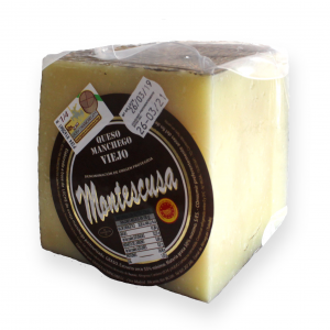 Quarter Manchego D.O.P. Cheese Montescusa Old Cured
