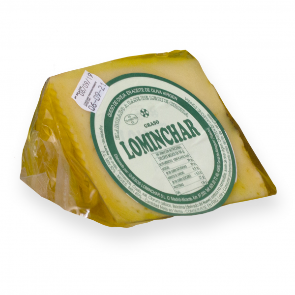 Wedge Lominchar Cheese Cured In Olive Oil