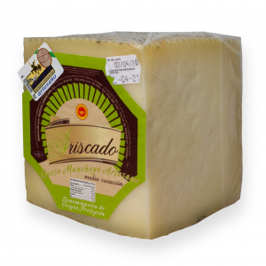 Quarter Manchego Cheese D.O.P Ariscado Semicured