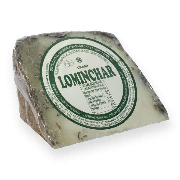 Lominchar Cured Cheese In Rosemary