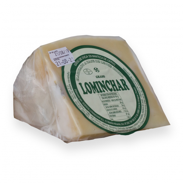 Wedge Lominchar Cheese Cured In Lard