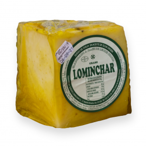 Quarter Lominchar Cheese Cured In Olive Oil